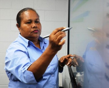 Eva Ronald, Assistant Accounts Manager, TE PNG